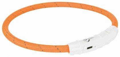 Trtixie Flash Leuchtring USB XS-S ; 35 cm/ø7 mm orange