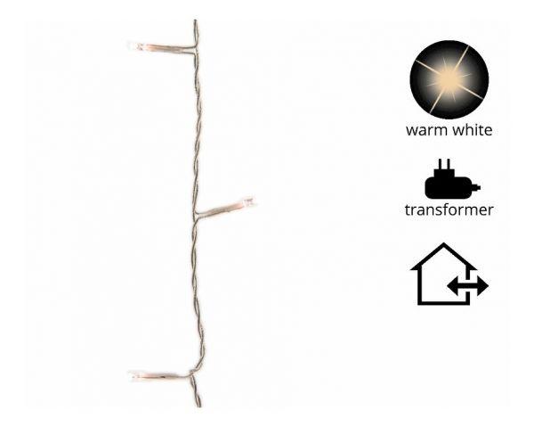 LED Basic Timer/Dimmer 300cm-40L,transparent/warmweiss