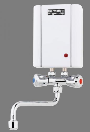 respekta Klein Durchlauferhitzer + Armatur 3,5 kW