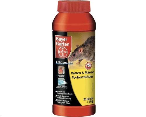 Bayer Ratten + Mäuse-Portionsköder 250g