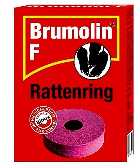 Bayer Brumolin Ultra F Rattenring 200g, 1 Stk
