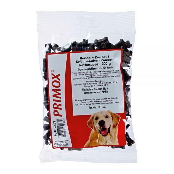 Primox Hundekonfekt Knöchel Pansen 200g
