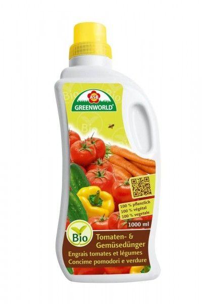 ASB Bio Tomate und Gemüse Flüssigdünger 1L