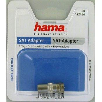 SAT-Adapter-Set F-Kupplung Koax-Stecker//F-Kupplung Koax-Kupplung