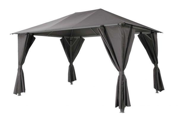 "Tepro Pavillon ""Kabara"" anthrazit 3x4 m extra stabil"
