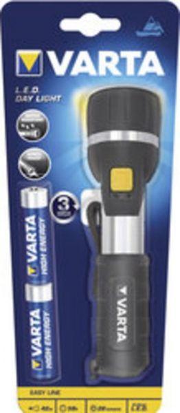 Varta 16610101421 Taschenlampe LED Day Light, inkl. 2 x AA Mignon Batterie