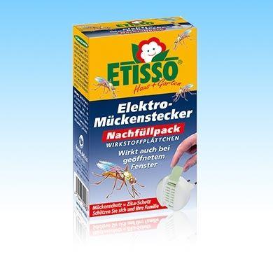 Etisso Delicia Elektro Mückenstecker Nachfüllpack 20 Plättchen