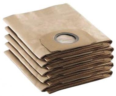 Kärcher Papierfiltertüten 2 Lagig 5 Stk.