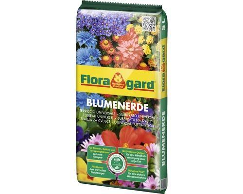 Floragard Zimmerpflanzenerde 5 L, U5