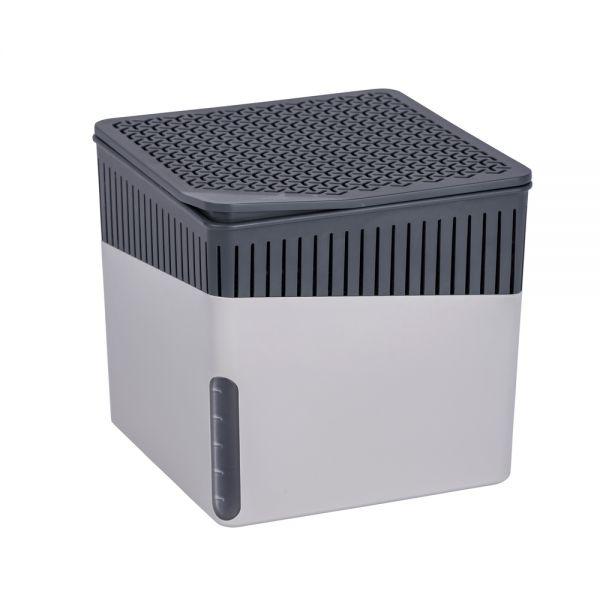Wenko Raumentfeuchter Cube 2 x 500 g grau
