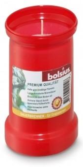 Bolsius Dauerbrenner Nr. 3 ohne Deckel rot