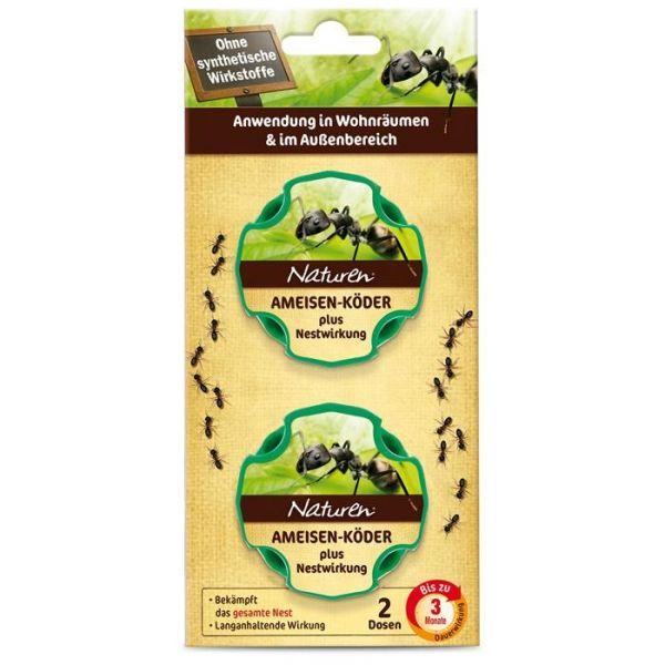 Naturen Bio Ameisen-Köder Dosen NE, 2er Pack