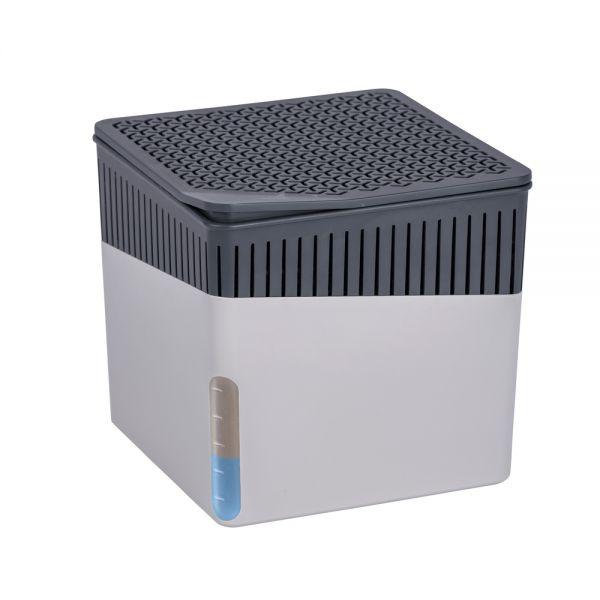Raumentfeuchter Cube 2 x 1000 g grau