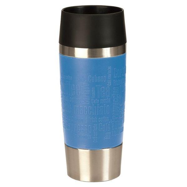 Emsa Isolierflasche TRAVELMUG 0,36L Blau