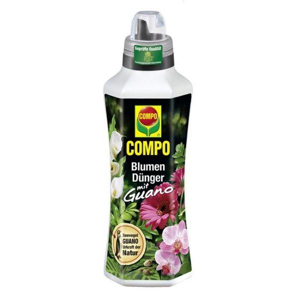 COMPO Blumendünger mit Guano flüssig 1 Liter