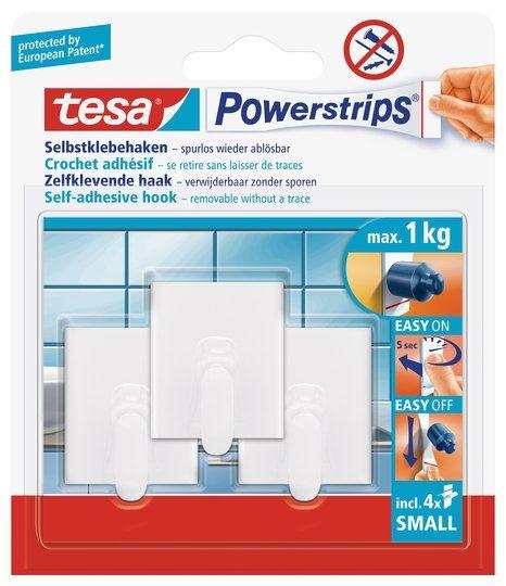 tesa Powerstrips® Haken Small Rechteck