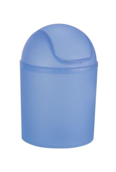 Schwingdeckeleimer Arktis Blau 1,5 L
