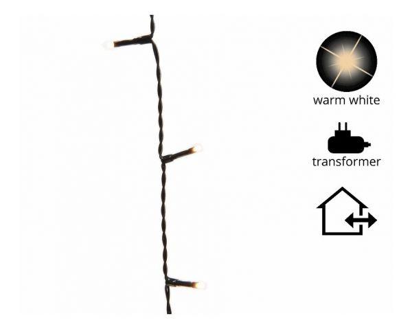 LED Basic Timer/Dimmer 900cm-120L,schwarz/warmweiss