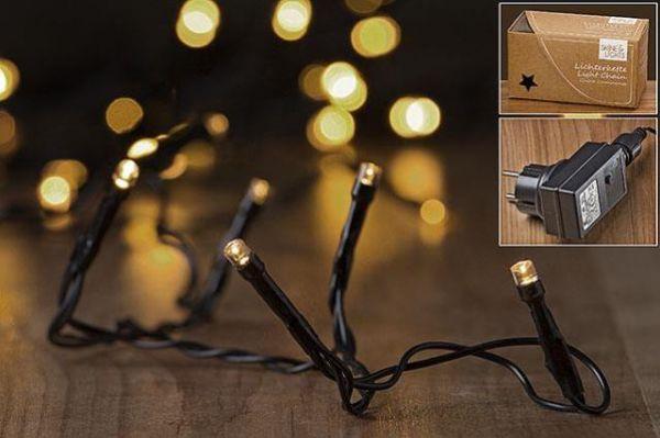 Boltze LED-Lichterkette 320er L3690cm 320 LEDs Warm Weiss