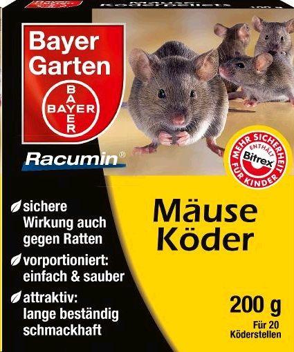 Bayer Garten Mäuseköder 200g