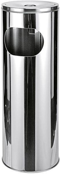 HI Stehaschenbecher ø21cmx58cm, Metall, Silber, 18 x 18 x 10 cm