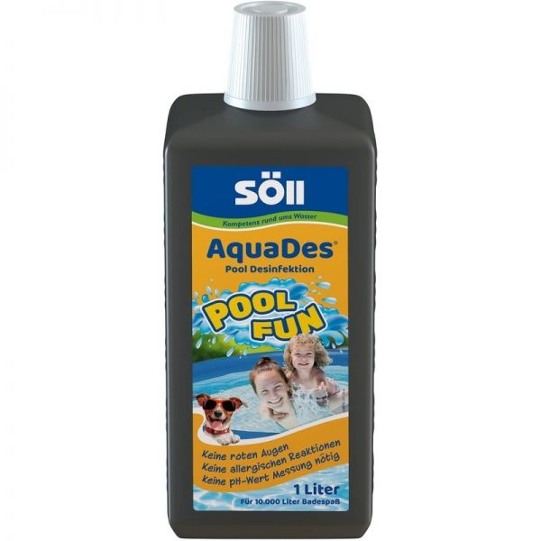 SÖLL - AQUADES ® - Pool Desinfektion 1 Liter