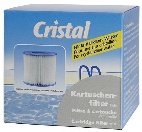 Cristal Kartuschenfilter Klein - Single Höhe 103 mm