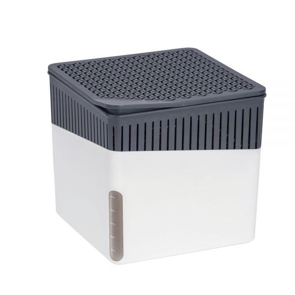 Wenko Raumentfeuchter Cube 2 x 500 g weiß