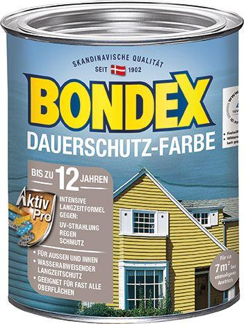 Bondex Dauerschutzfarbe 0,5 L Rapsgelb