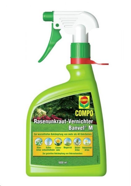 COMPO Rasenunkraut-Vernichter Banvel M Spray 1 L