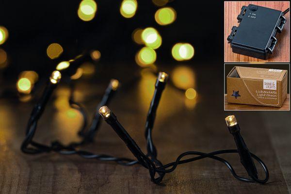 Boltze LED-Lichterkette 50er L540cm 3xAA 1,5V nicht enthalten