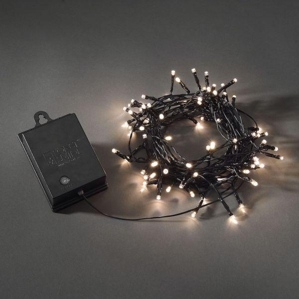 LED Lichterkette,Schalter 6h, 9h Timer,Außen,80ww, 7,9m