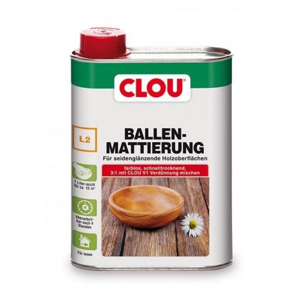 Clou Ballen Mattierung L2 250 ml farblos