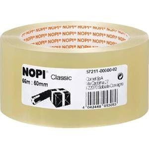 Nopi Packband Classic transparent,66m:50mm