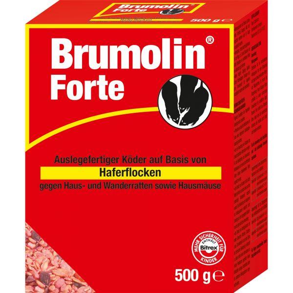 SBM Bayer Garten Brumolin® Forte Getreideköder mit Haferflocken, 500 g