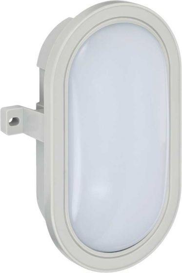 Brennenstuhl LED-Ovalleuchte L DN 5402 IP44 grau 10W 800lm Energieeffizienzklasse A+