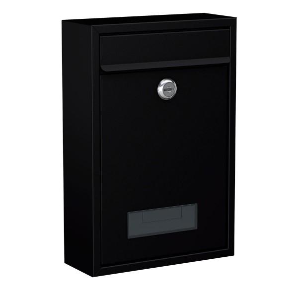 Basi BK100M Briefkasten, Stahl matt schwarz