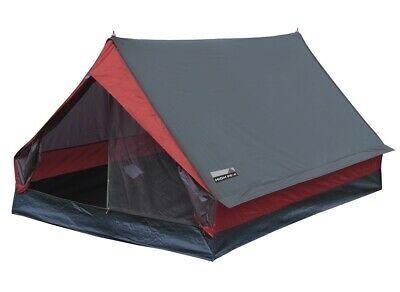Zelt Minipack rot-grau 190x120x95cm