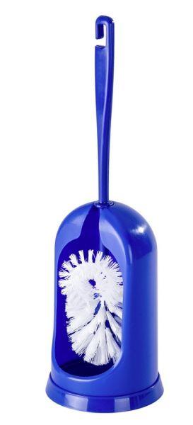 WC-Garnitur Standard Blau, mit Randreiniger