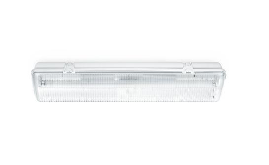 Steinel FRS 30 ESL Sensorl.Weiß IP65 2x18W/G13 IP65, schlagfest
