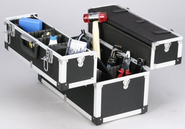 Allit AluPlus Tool 18, schwarz Werkzeugkoffer, 455x240x330 mm