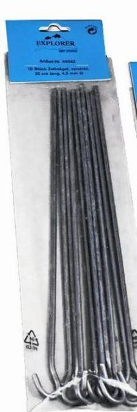Zeltpflock 30 cm, 6 St./ Btl.