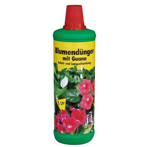 Blumendünger mit Guano 1 Liter