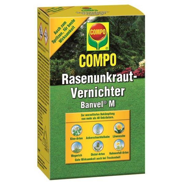 COMPO Rasenunkraut-Vernichter Banvel M 50 ml für 85 m²