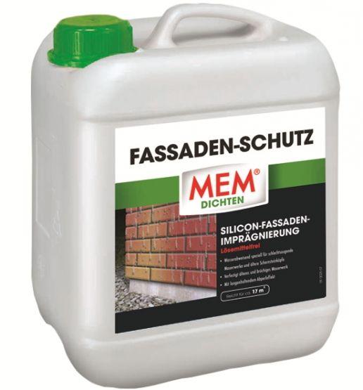 MEM Fassaden-Schutz Silicon-Fassaden-Imprägnierung lösemittelfrei 5 L