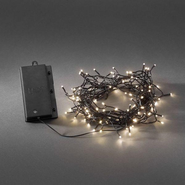LED Lichterkette, Lichtsensor Timer, Außen ,120 ww, 11,9m